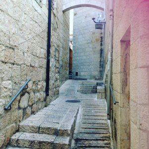 Old Jerusalem the arch
