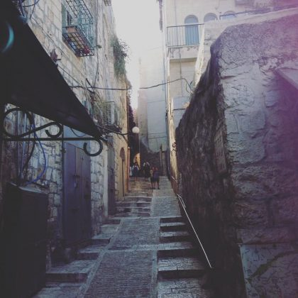 Old Jerusalem quartet Alley