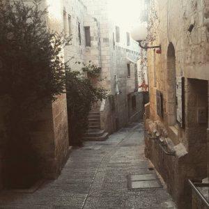 Jewish quarter, old Jerusalem