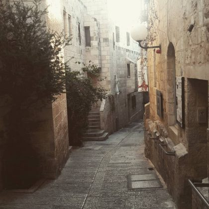 Jewish quarter, old Jerusalem