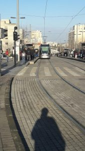 When you come from Tel Aviv to Jerusalem by bus or from Ben Gurion by fast train, you will arrive to this area which close to central bus station.