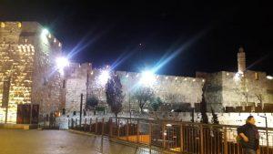 Old Jerusalem By Night