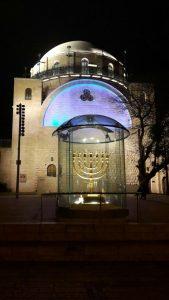The Hurva Synagogue in old Jerusalem