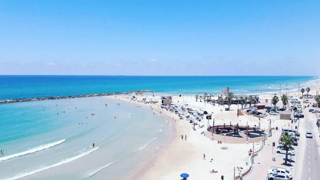Sironit beach in Netanya