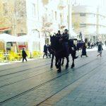 Jaffa street and the Mamilla Mall